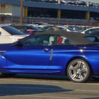 Spied: BMW M6 Cabrio