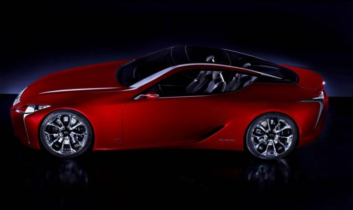 Lexus Sport Coupe Concept - First Official Photo