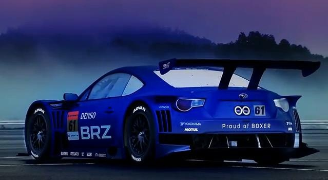 Subaru BRZ GT300 Promo Video