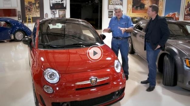 Video: 2012 Fiat 500 Abarth Review by Jay Leno