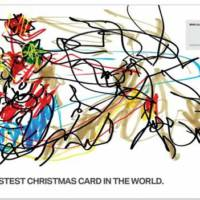 Video: Illustrator Draws The Fastest Christmas Card in the World in M5