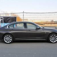 2012 BMW 335Li Long Wheelbase Spied