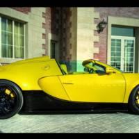 Bugatti Veyron Grand Sport Special Edition Unveiled in Qatar