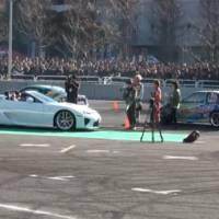 Lexus LFA Roadster Surprise Debut