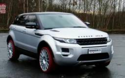 Marangoni Range Rover Evoque Teasted