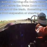 Shelby Cobra Crash at 130 mph