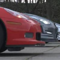 Video: Corvette Grand Sport vs Nissan GT-R vs Jaguar XKR