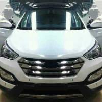 2013 Hyundai Santa Fe Spied Undisguised