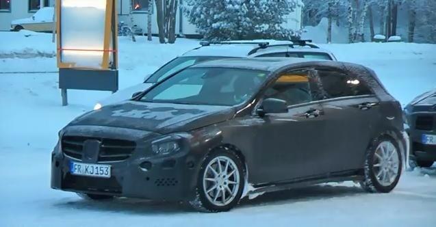 2013 Mercedes A Class Spied