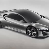 Acura NSX Concept Unveiled