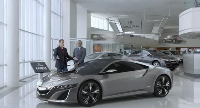 Acura NSX Super Bowl Ad Featuring Jerry Seinfeld and Jay Leno