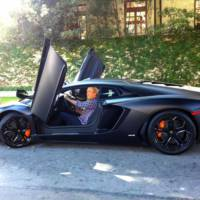 Former President George W Bush bought an Aventador?