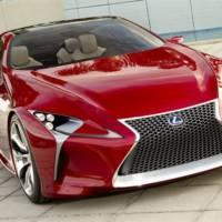 Lexus LF-LC Concept: New Photos