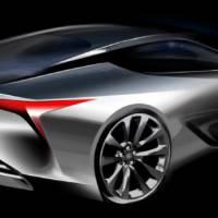 Lexus LF-LC Concept Premieres in Detroit