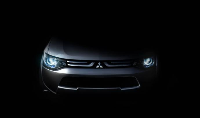New Mitsubishi SUV Marking Change of Styling Direction Teased Ahead Of Geneva Motor Show Debut