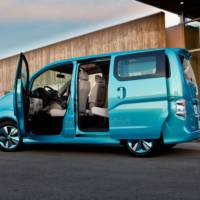 Nissan e-NV200 Concept unveiled in Detroit