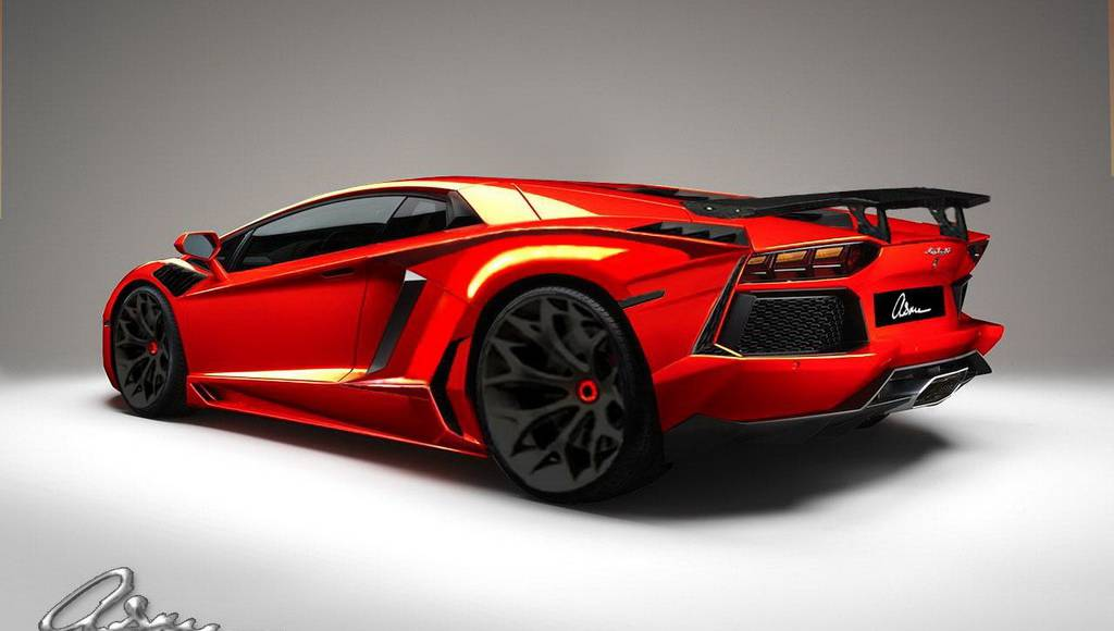 ASMA Design Lamborghini Aventador Preview