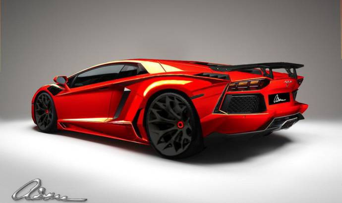 ASMA Design Lamborghini Aventador Preview