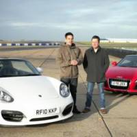 Audi R8 Spyder V8 vs Porsche Boxster Spyder: Which is Faster?