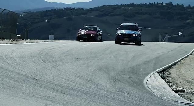 BMW M3 vs X5M Promo