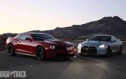 Chevrolet Camaro ZL1 vs Nissan GT-R