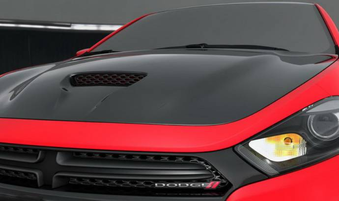 Dodge Dart GTS 210 Tribute and Fiat 500 Stinger by Mopar