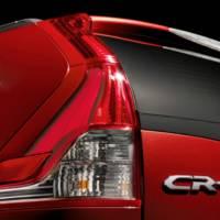 European Honda CR-V Prototype Revealed