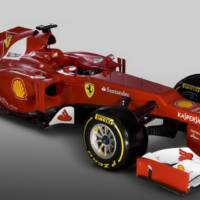 Ferrari F2012 Formula 1 Car