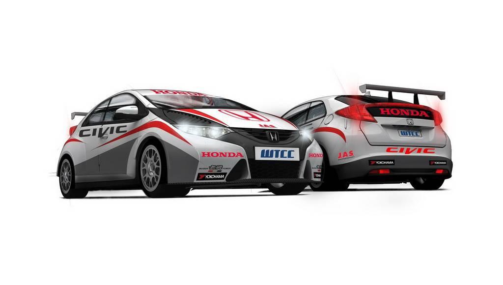 Honda WTCC Civic Racer