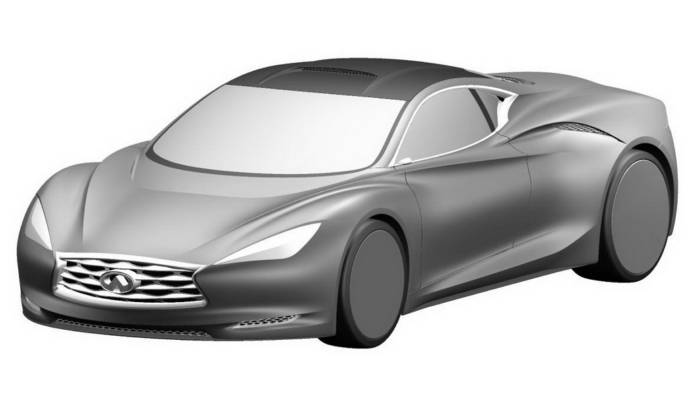Infiniti Emerg-E Revealed in Patent Designs