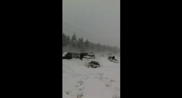 NSFW Crash Video: Massive Pileup in Helsinki