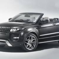 Range Rover Evoque Convertible Preview