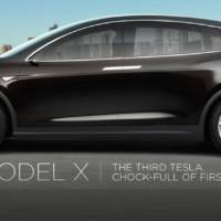 Tesla Model X Crossover Revealed