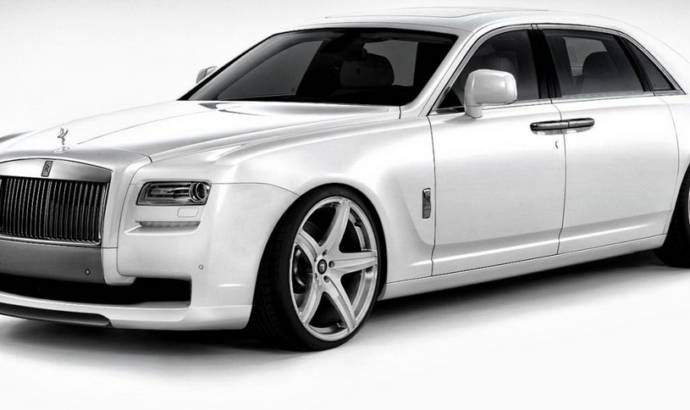 Vorsteiner Rolls Royce Ghost Previewed