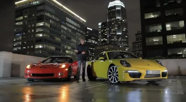2012 Corvette Grand Sport vs 2012 Porsche 911 Carrera S
