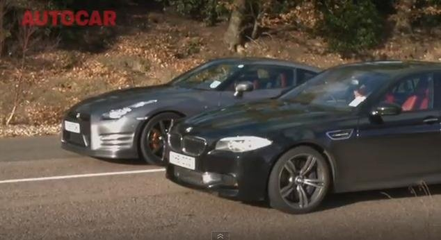 2012 Nissan GT-R vs 2012 BMW M5