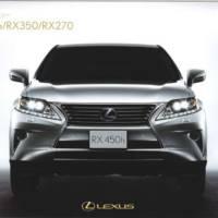 2013 Lexus RX Facelift Leaked