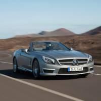 2013 Mercedes SL63 AMG Unveiled