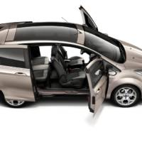 Ford B-Max Shows Easy Access Door System
