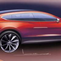 Tesla Model X Crossover Revealed