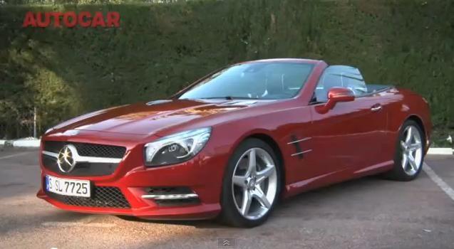 2013 Mercedes SL500 Review