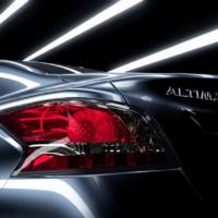 2013 Nissan Altima Teased from Behind