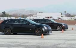 Cadillac CTS-V vs Mercedes E63 AMG