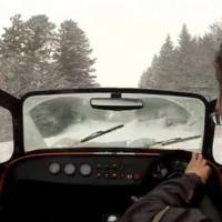 Caterham Supersport Driven on Snow