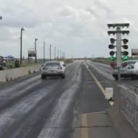 Lucky Nissan GTR Avoids Crashing Side Walls