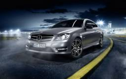 Mercedes C Class Coupe Sport and AMG Plus Sports Package