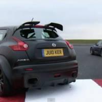 Nissan Juke R vs 2012 Nissan GT-R