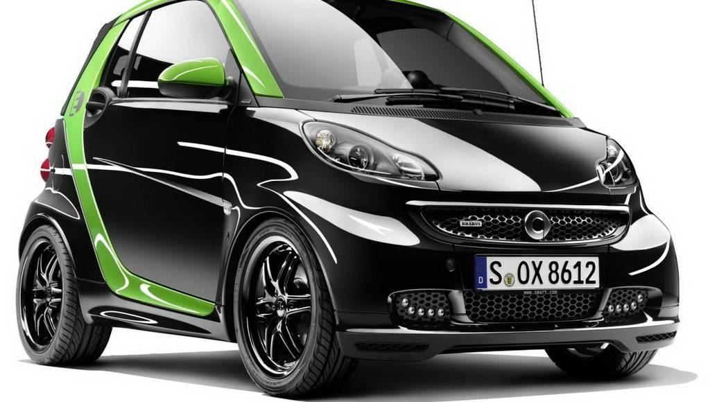 smart BRABUS electric drive and ebike