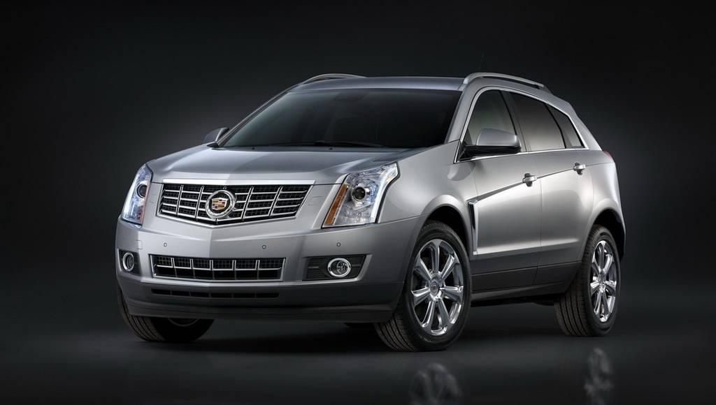 2013 Cadillac SRX Unveiled