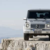 2013 Mercedes G Class Facelift - Officially Revealed